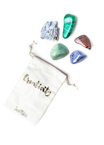 Creativity Stones - New age metaphysical healing crystals by SoulMakes