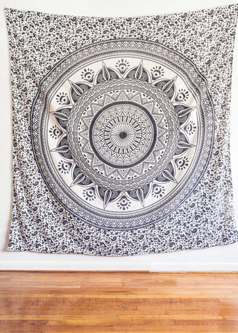 Night Mystic Medallion Tapestry