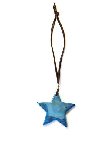 Star Agate Ornament