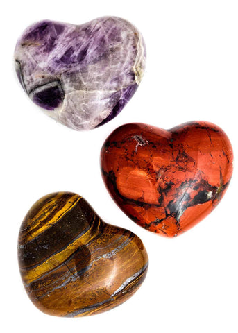 Gemstone Heart - Large