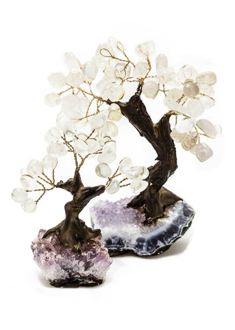 Clear Quartz Bonsai Tree