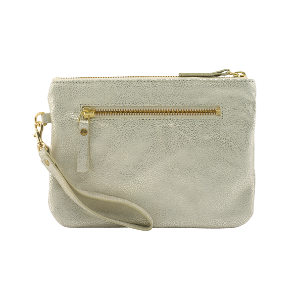 Sarah Hollier Metallic Mini Pouch