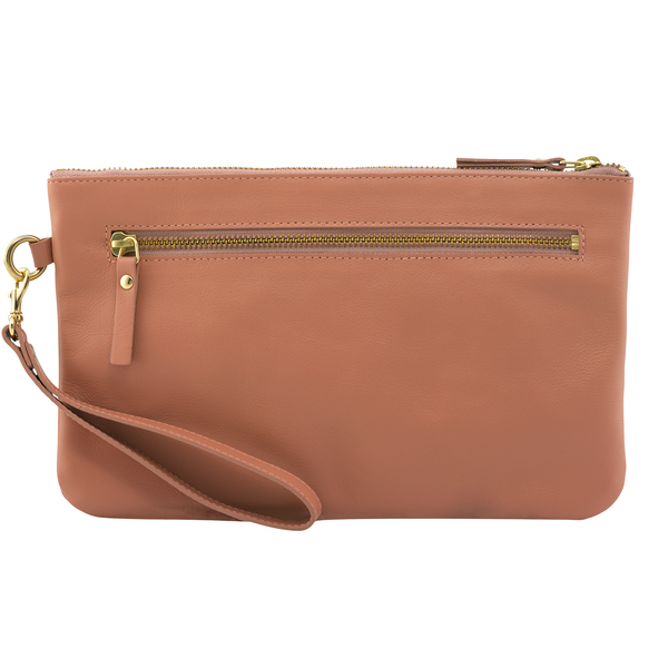 Sarah Hollier Pink Pouch