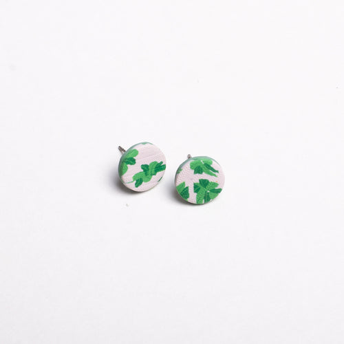 Emerald Blooms - Extra Small Stud