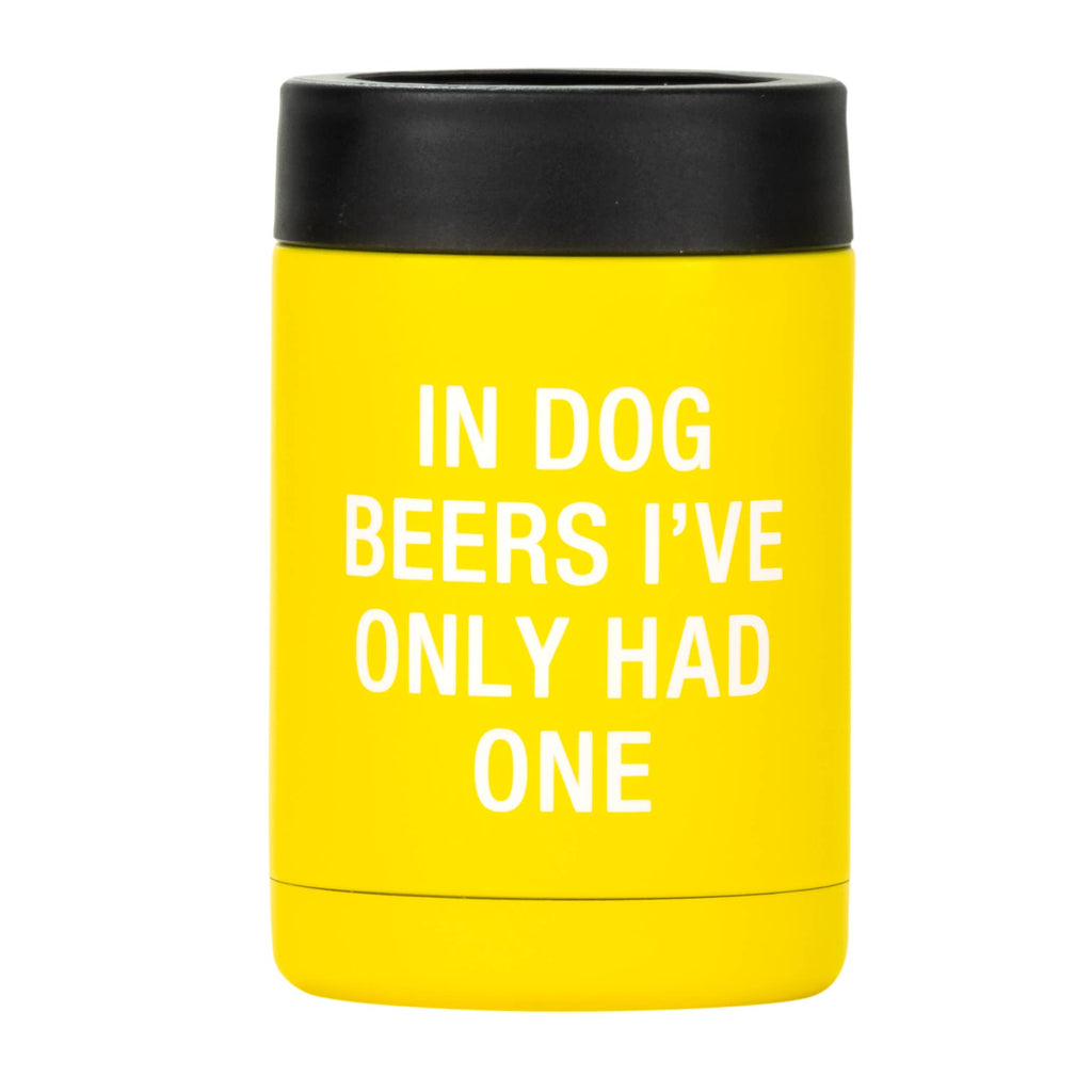Dog Beers Can Cooler