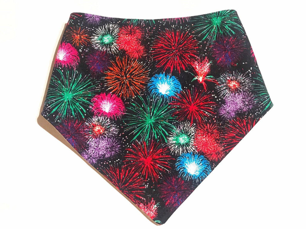 Fireworks Snap On Bandana