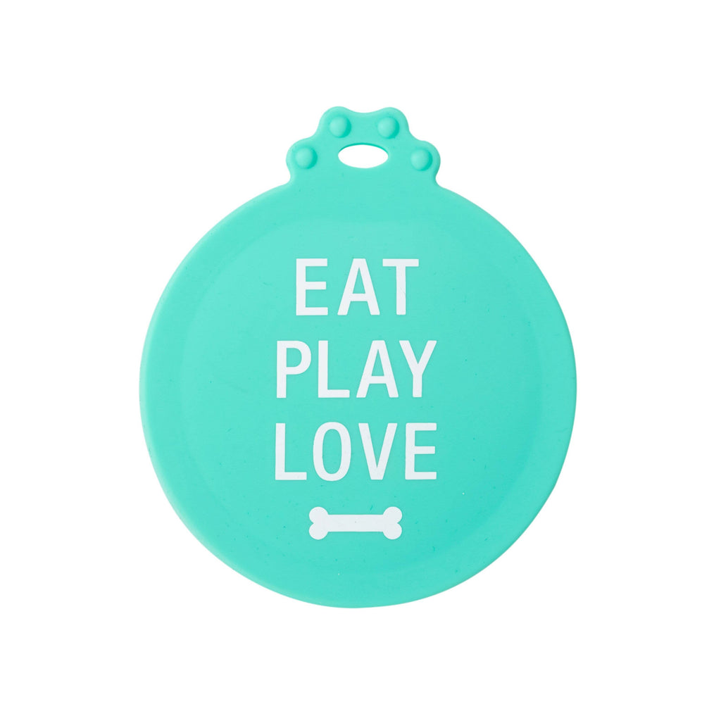 Eat Play Love Dog Food Can Cover