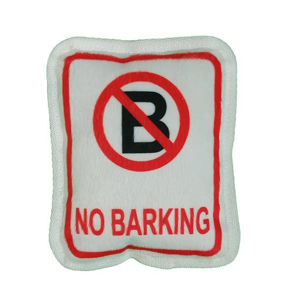 No Barking Plush Toy