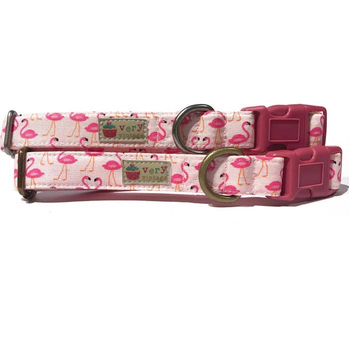 Pink Flamingo Collar