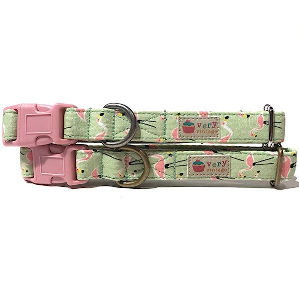Flamingo Fun Cotton Collar
