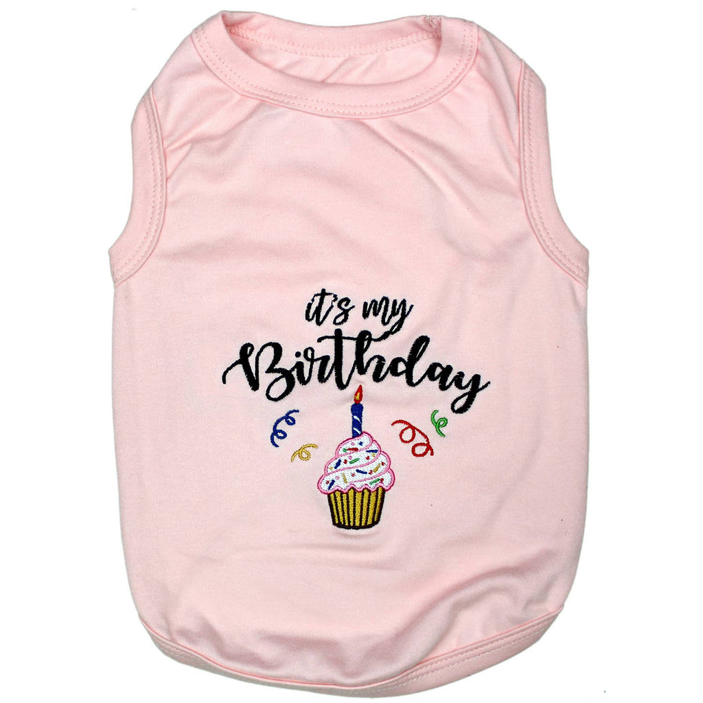 Birthday Girl Dog Tee