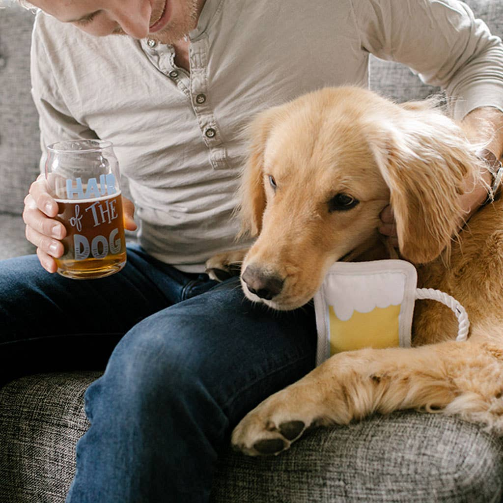 Hair of the dog-human & pet drinking set