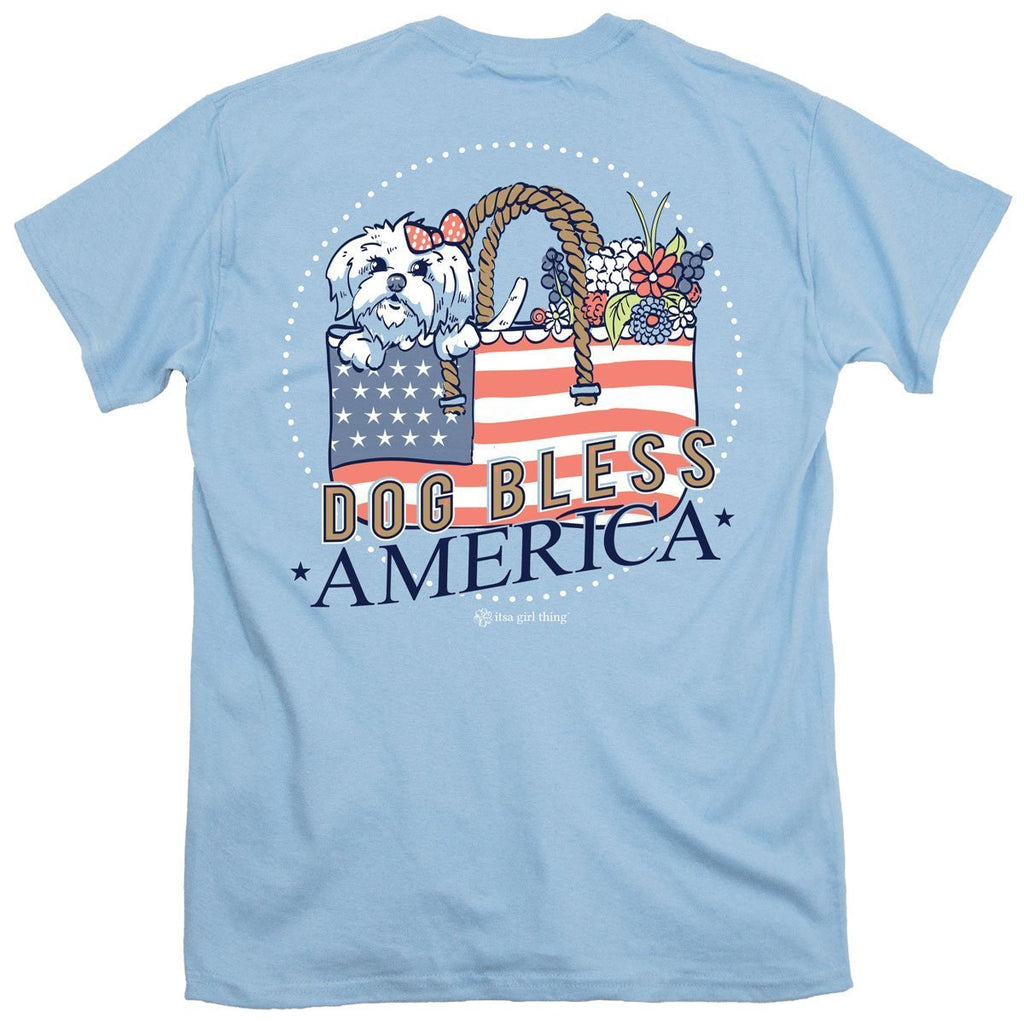 Dog Bless America Tee