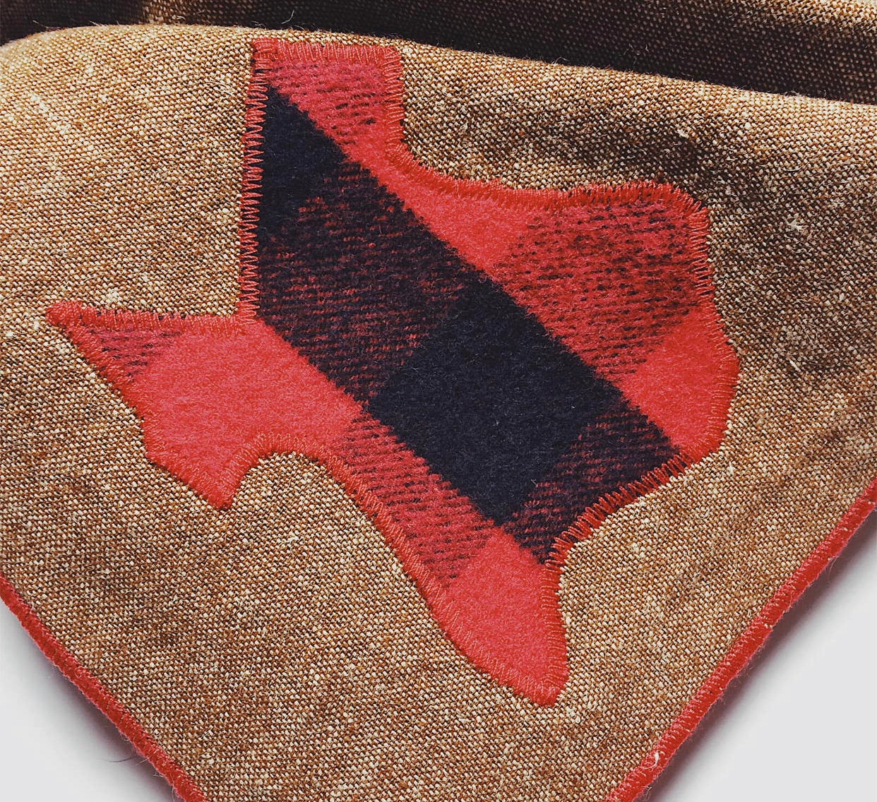 Texas Dog Bandana