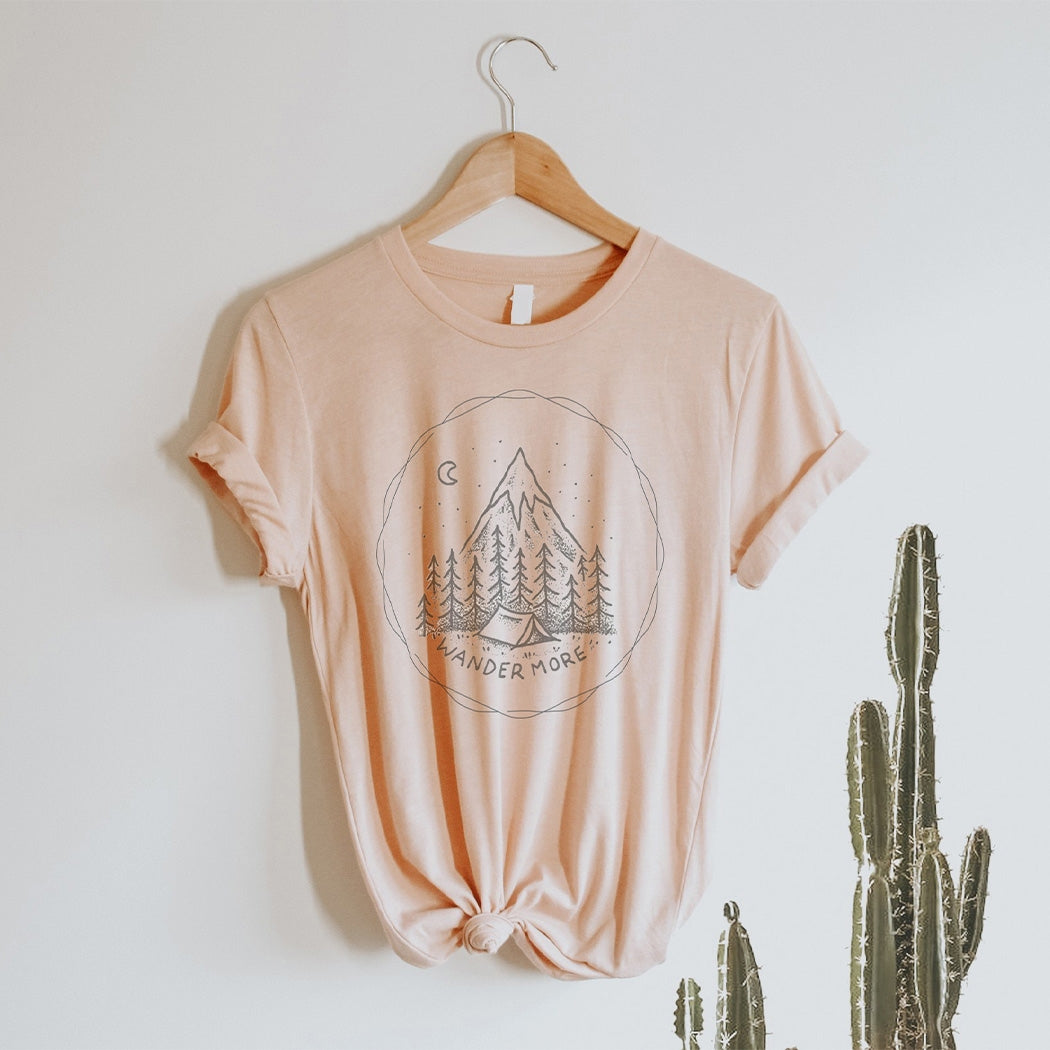 Wander More Graphic Tee