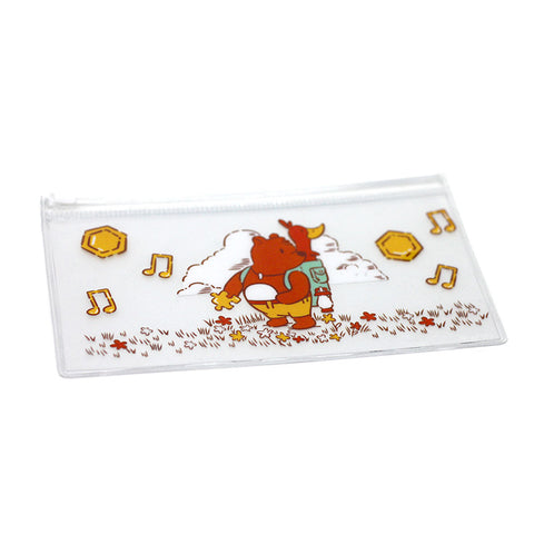 7in x 3.5in Clear Storybook Friends Pouch