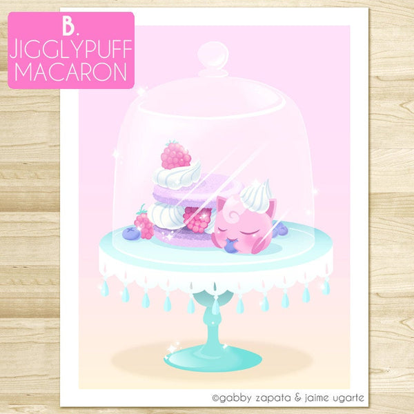 8.5x11 Sweet Treats Collab- Choose Print Choice