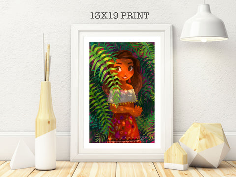 13x19in Vines Plant Gal Print