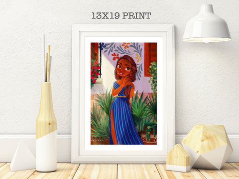 13x19in Mexicana Hermosa Print