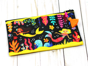 4.5x8in Sirenas Zipper Pouch