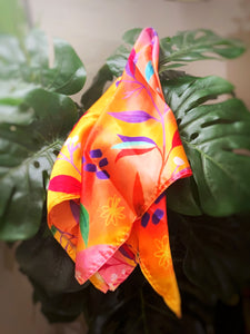 Tropical Smoothie Satin Scarf