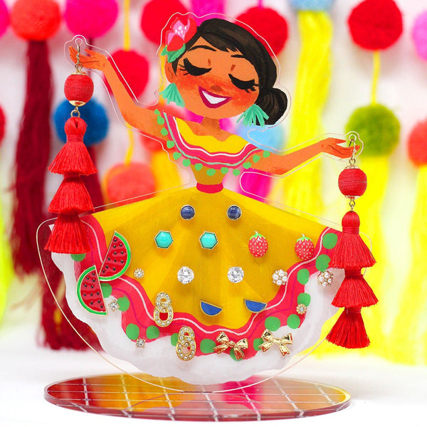 Folklorico Earring Display Stand
