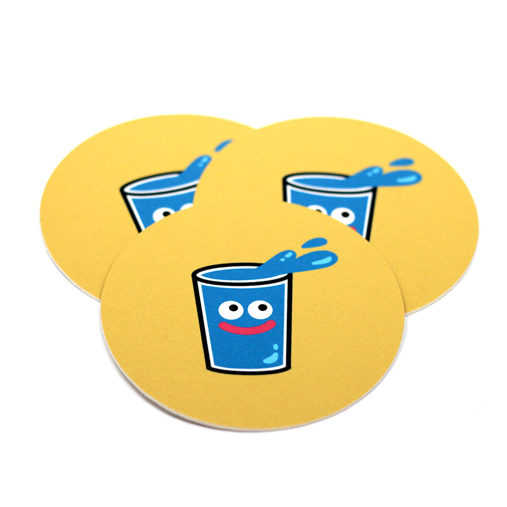 3-piece Slime Coaster set