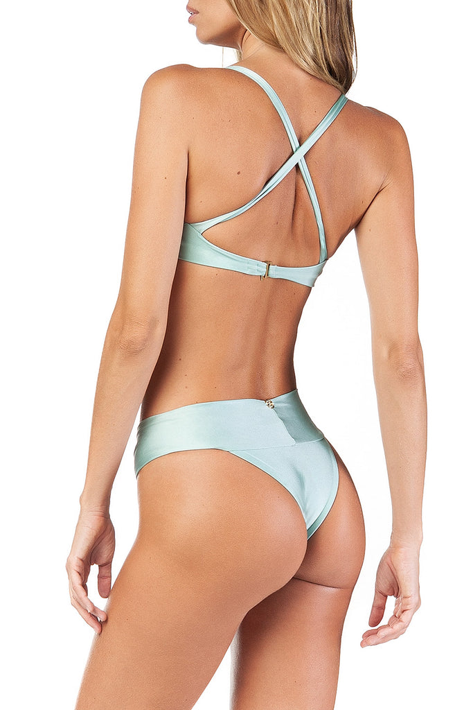 Wave Bikini Aquamarine Set