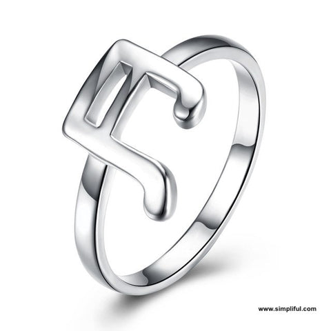 Music note Finger ring