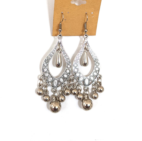 3 pairs for $12 - Oxidized hook drop Earring - Different designs