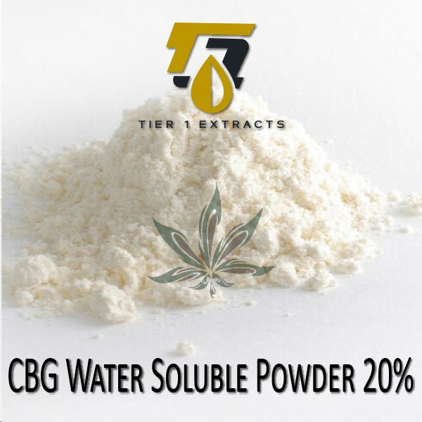 CBG Powder - Water Soluble 20%