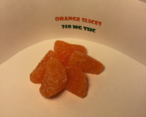 Orange Slices 350mg THC