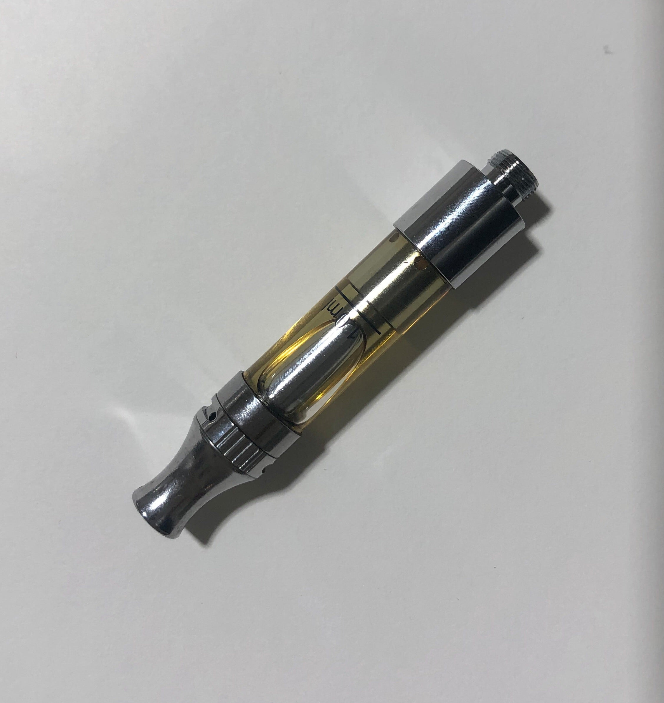 2mm glass cartridge .5 or 1.0 gram