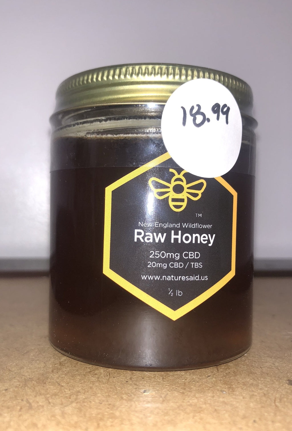 250mg Raw Honey