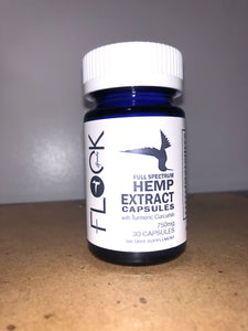 750mg hemp extract capsules (turmic)