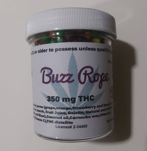 Buzz Rope 350mg THC