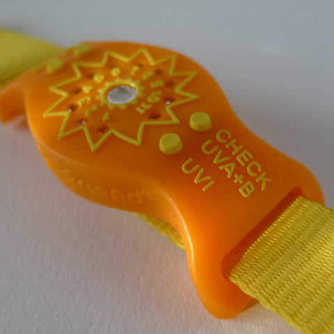 SunFriend® Orange Citrus Daily Sun/UV Monitor
