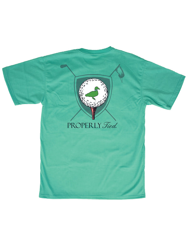 LD Tee Time SS Soft Green