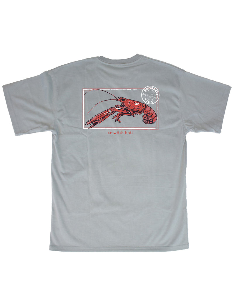 LD Crawfish Season SS Chrome Grey