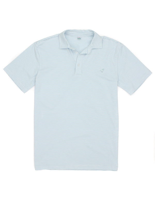 LD Jackson Polo Light Blue Stripe