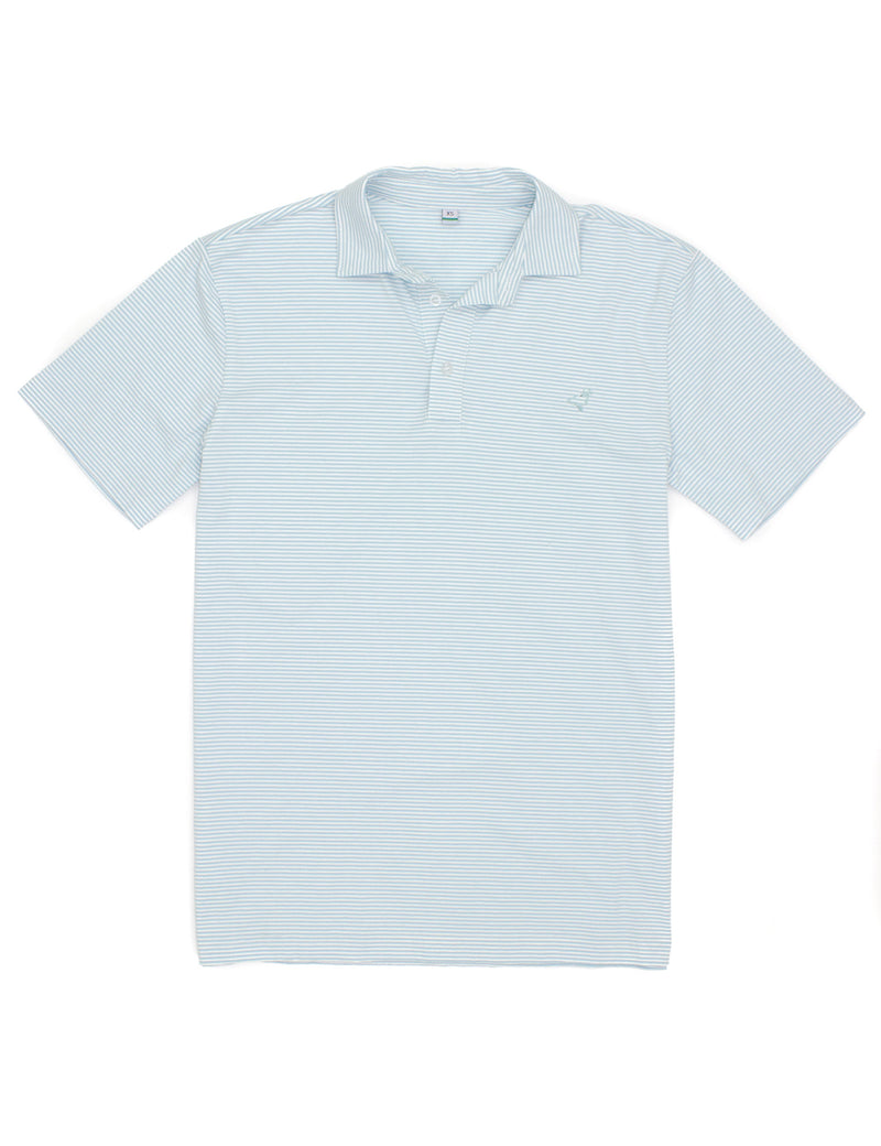 Jackson Polo Light Blue Stripe