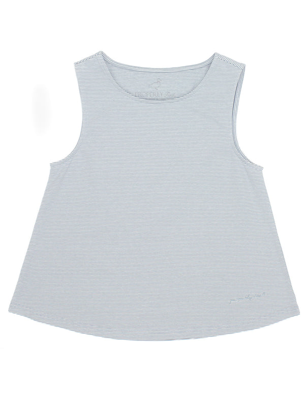 LD Shore Tank Salt Blue Stripe