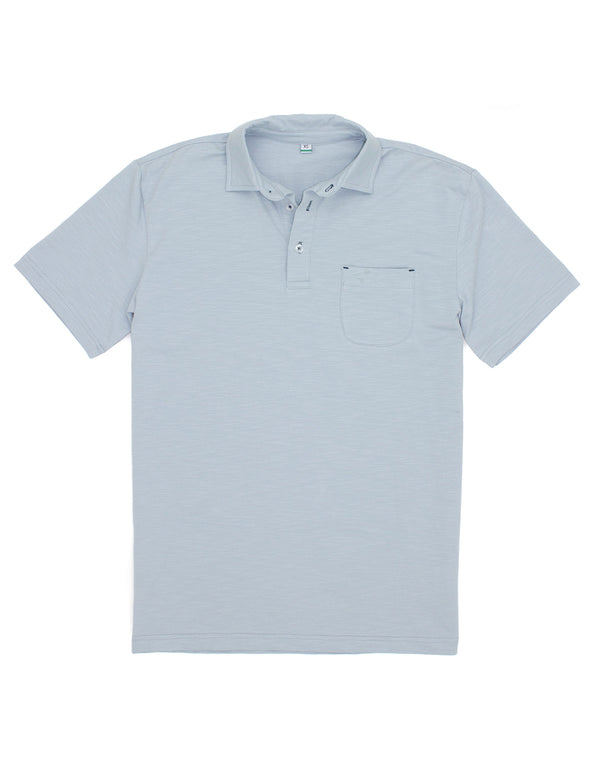 Islander Polo Light Blue