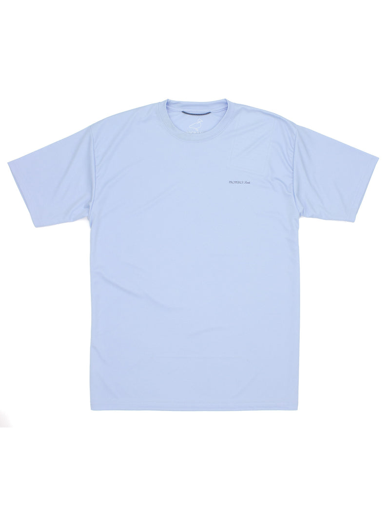 Flight Cool Tee SS Light Blue