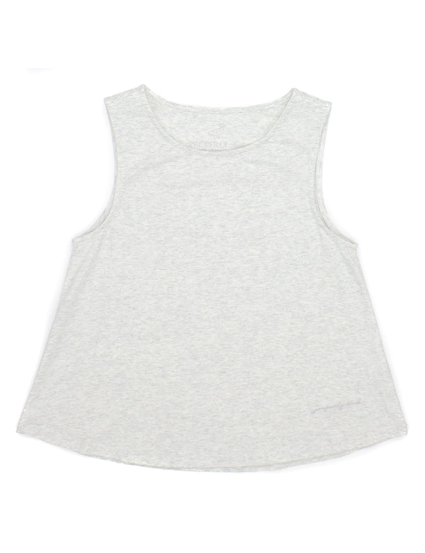 LD Shore Tank White Fleck