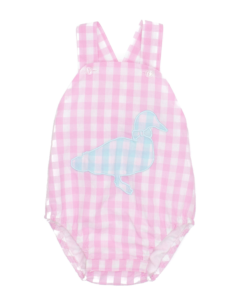 LD Hayden Bubble Pink Gingham