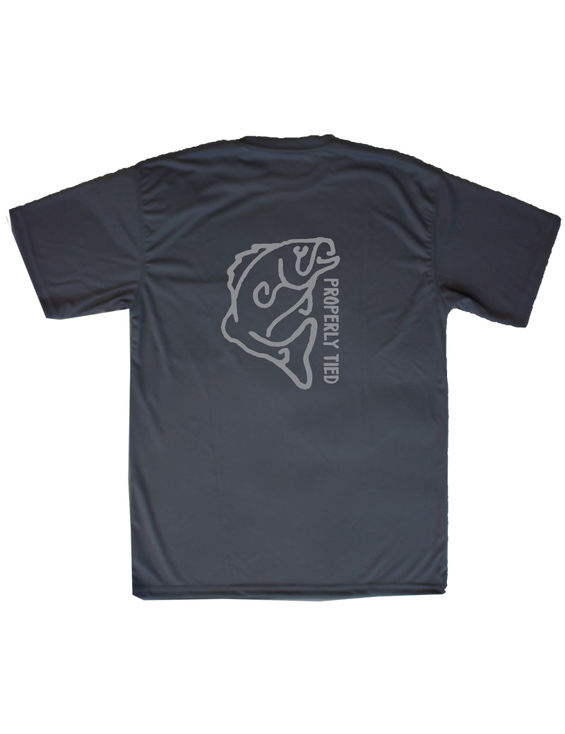 SS Performance Tee Large Mouth Graphite