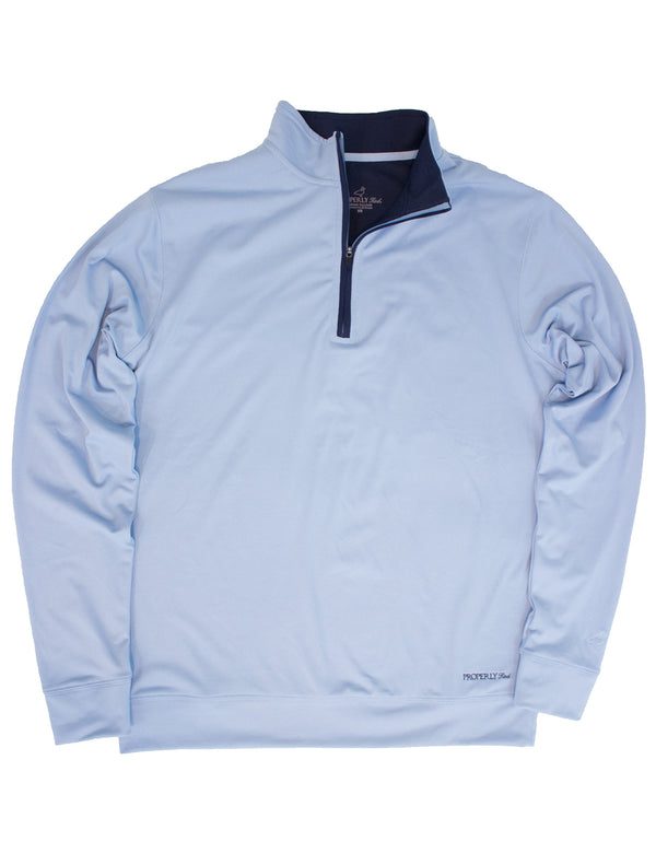 Fairway Pullover - Powder Blue