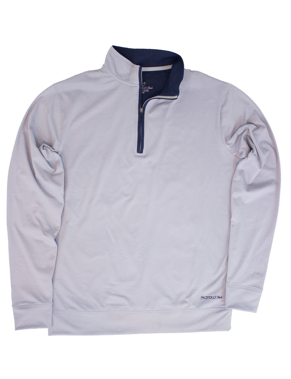 Fairway Pullover - Chrome Grey