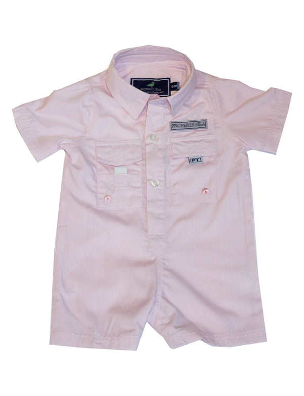 LD Performance Fishing Shortalls Melon